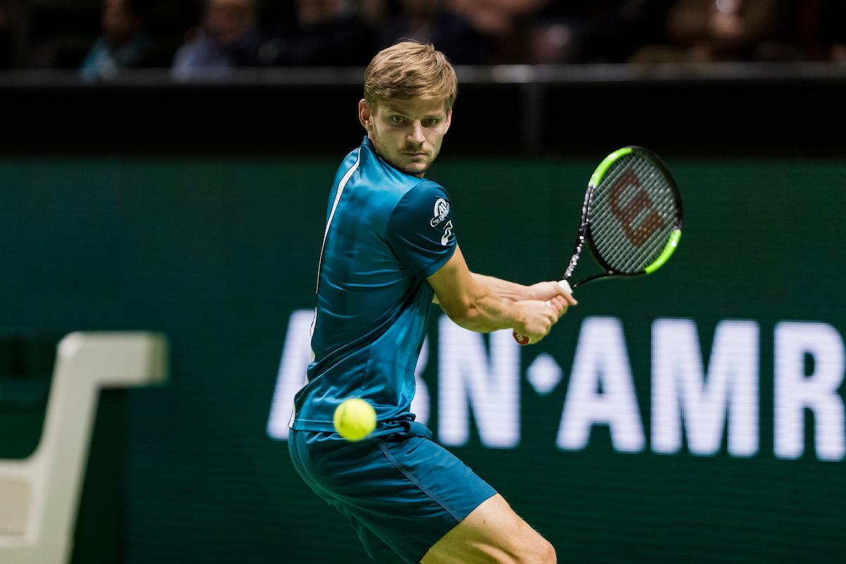 Routineklus voor David Goffin