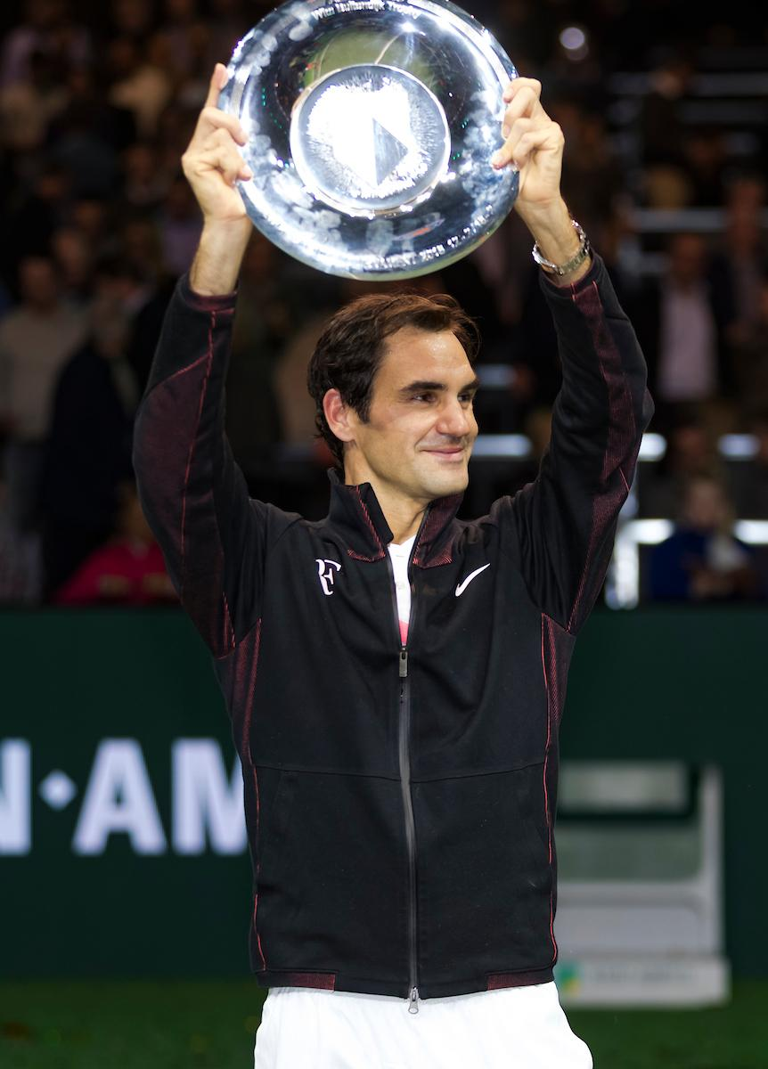 Roger Federer winnaar ABN AMRO World Tennis Tournament
