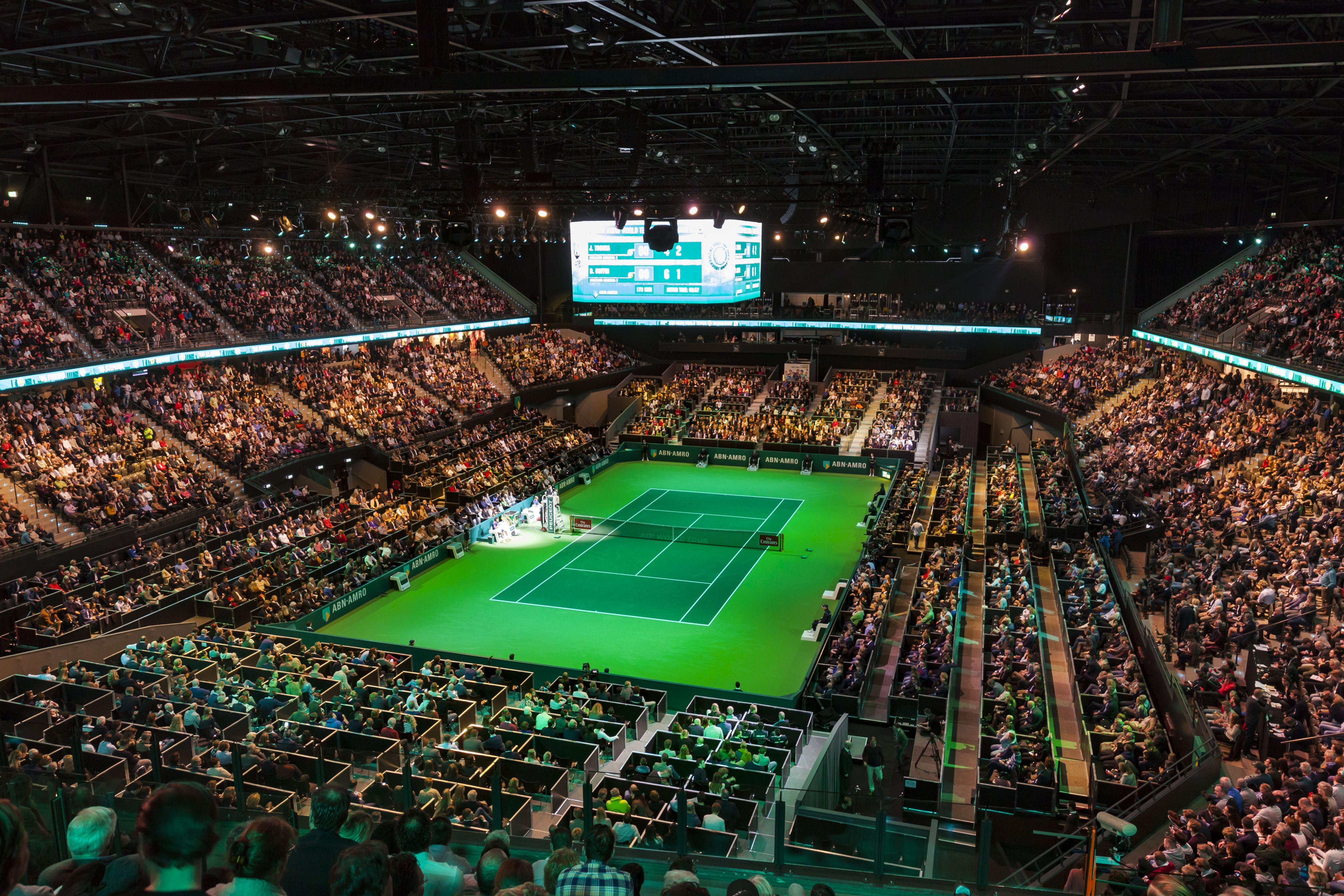Finale 45e ABN AMRO World Tennis Tournament uitverkocht