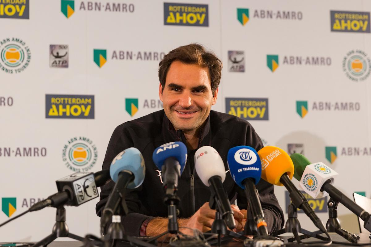 Roger Federer: ''Happy to be back in Rotterdam''