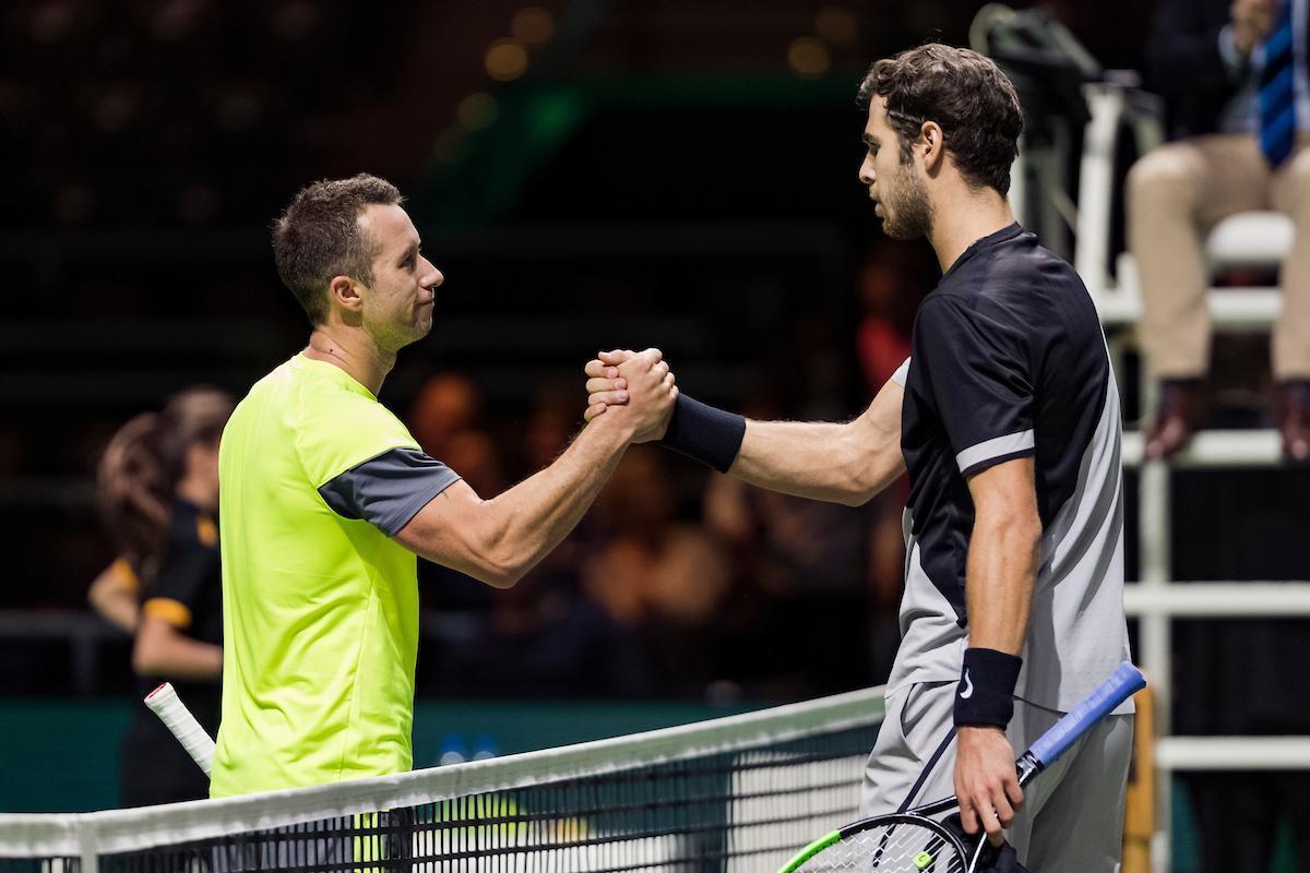 Philipp Kohlschreiber already thinks of Roger Federer