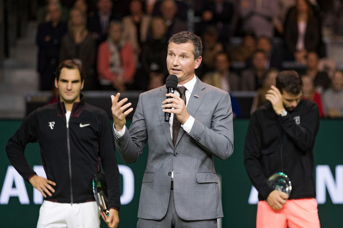 Richard Krajicek: 'Historical moment in jubilee edition with visitors record'