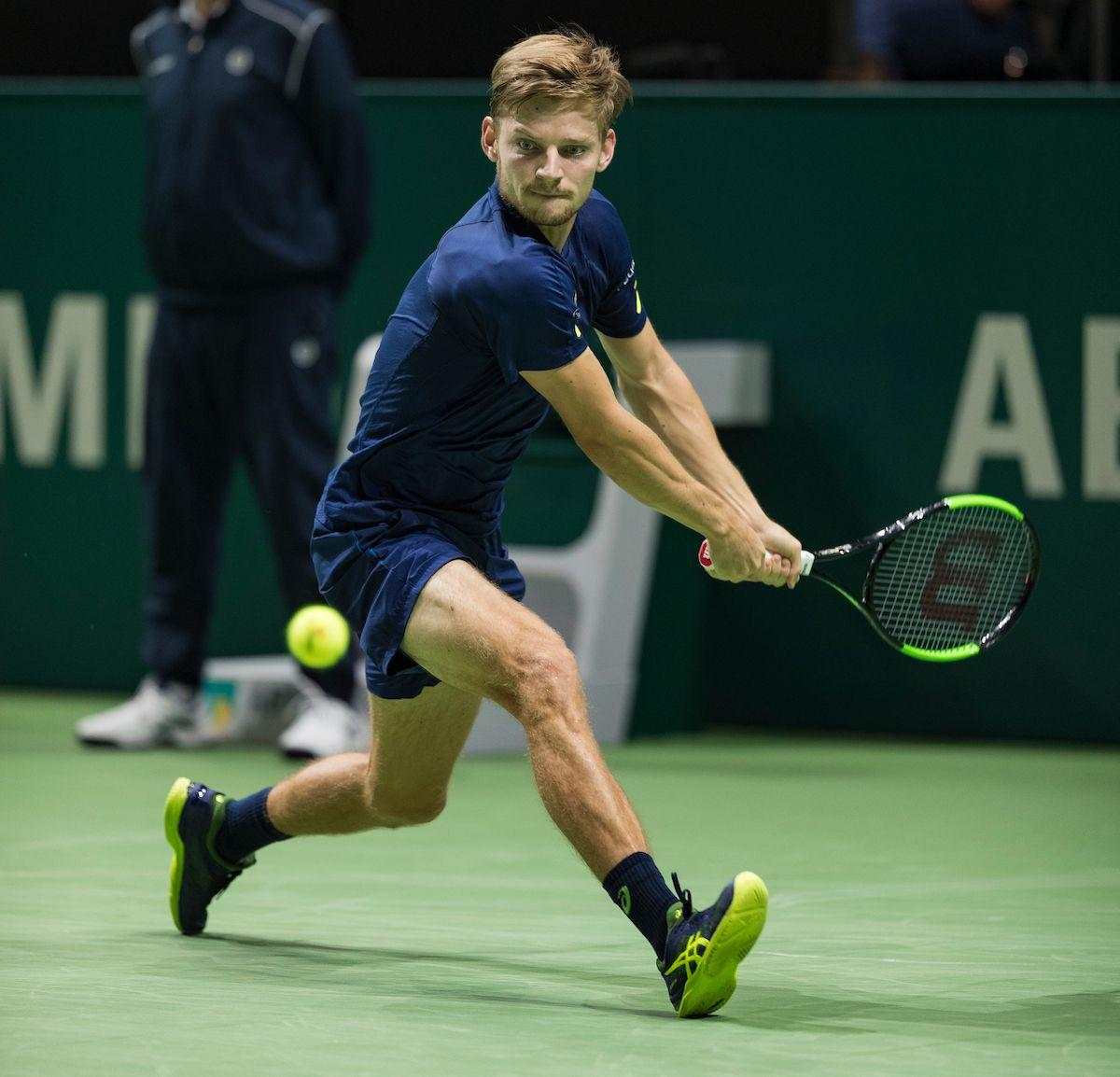 Goffin vierde top-10 speler in het 45e ABN AMRO World Tennis Tournament