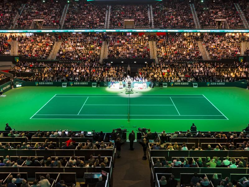 NIEUW op het 45e ABN AMRO World Tennis Tournament: courtside tickets