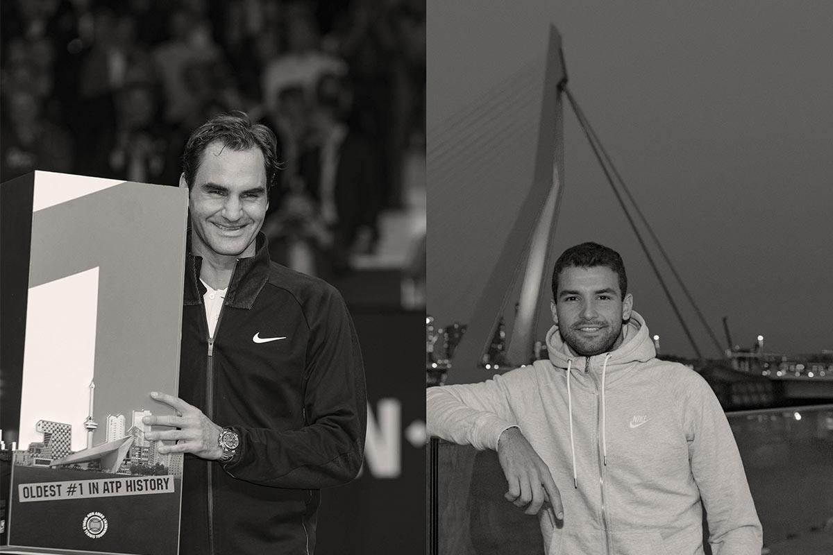 6-0 voorsprong Roger Federer in onderlinge duels tegen Grigor Dimitrov