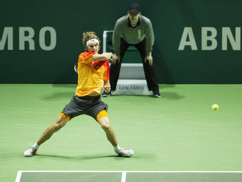 Zverev, Dimitrov en Tsonga vastgelegd voor het 45e ABN AMRO World Tennis Tournament