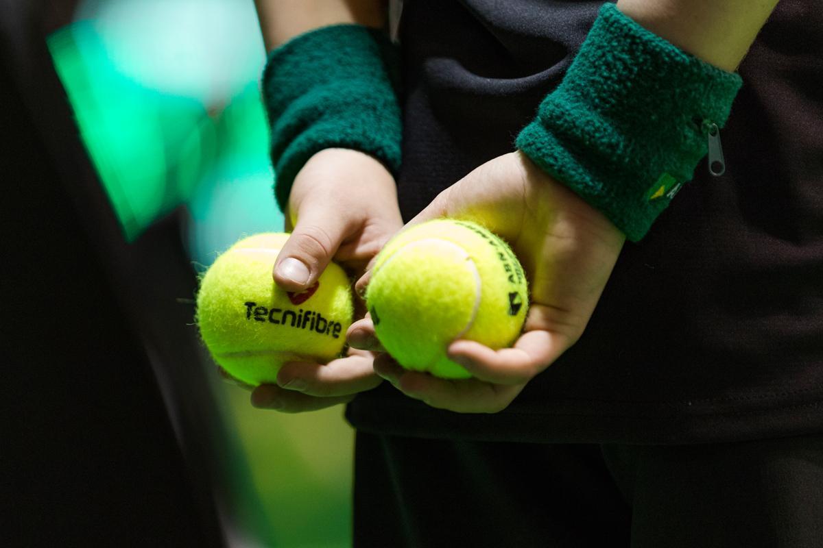 ABN AMRO gaat 50.000 tennisballen recyclen tot Krajicek Playground