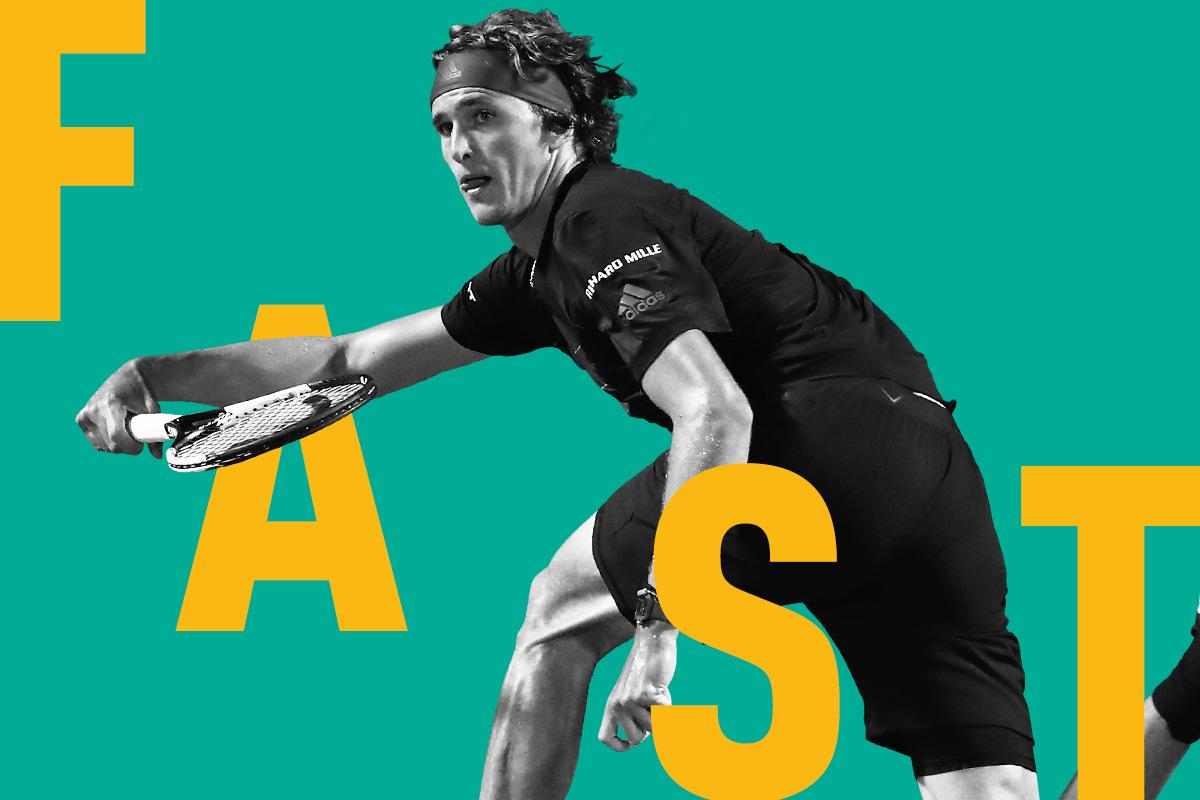 Alexander Zverev plays in Rotterdam for the fifth time