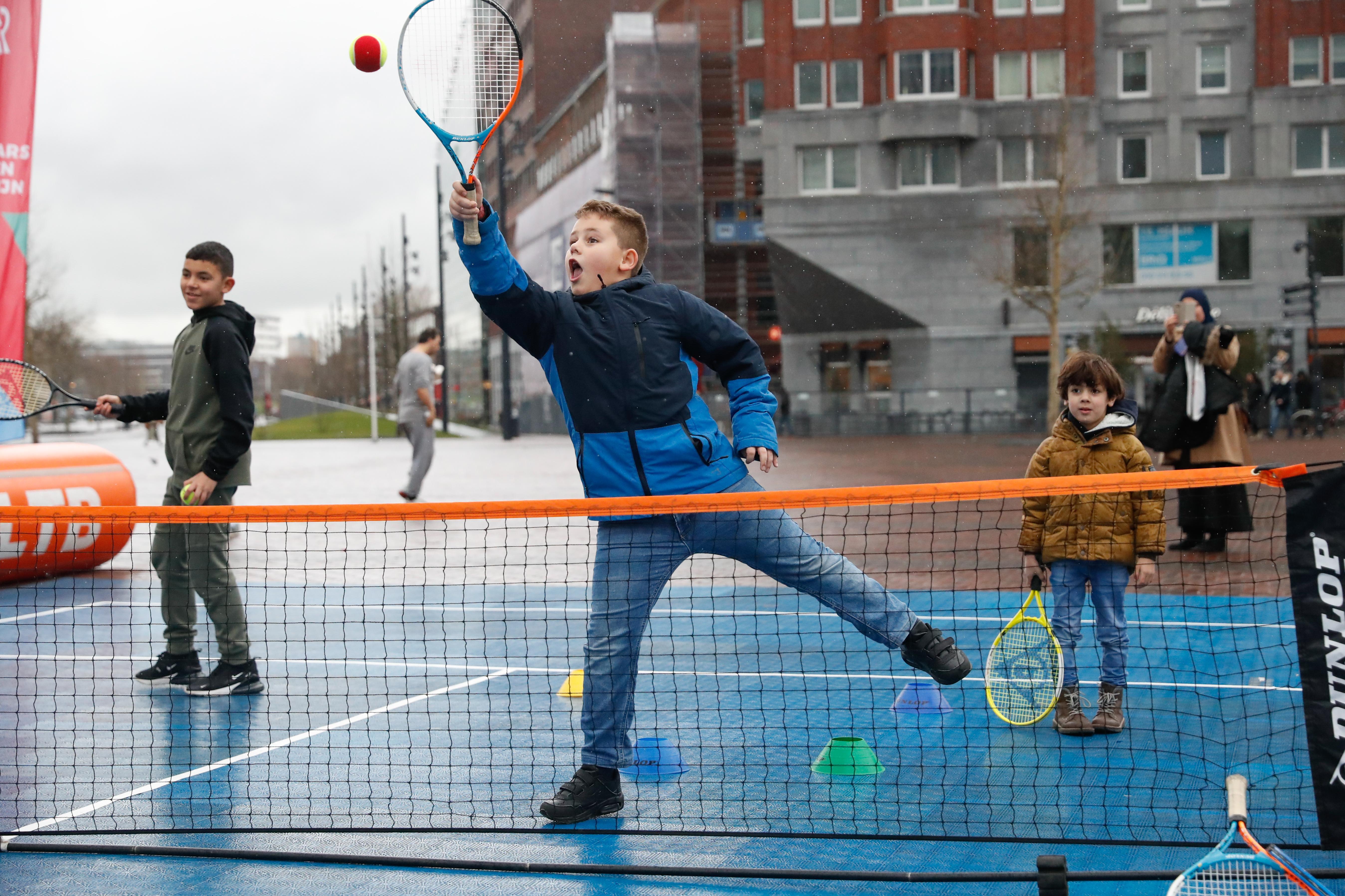 Dit weekend, lekker tennissen in Rotterdam