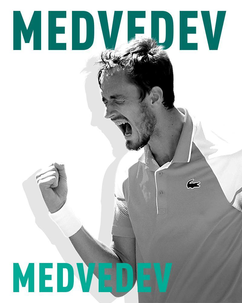 Daniil Medvedev naar Rotterdam