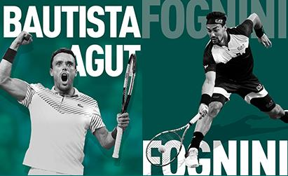 Bautista Agut and Fognini to ABN AMRO WTT