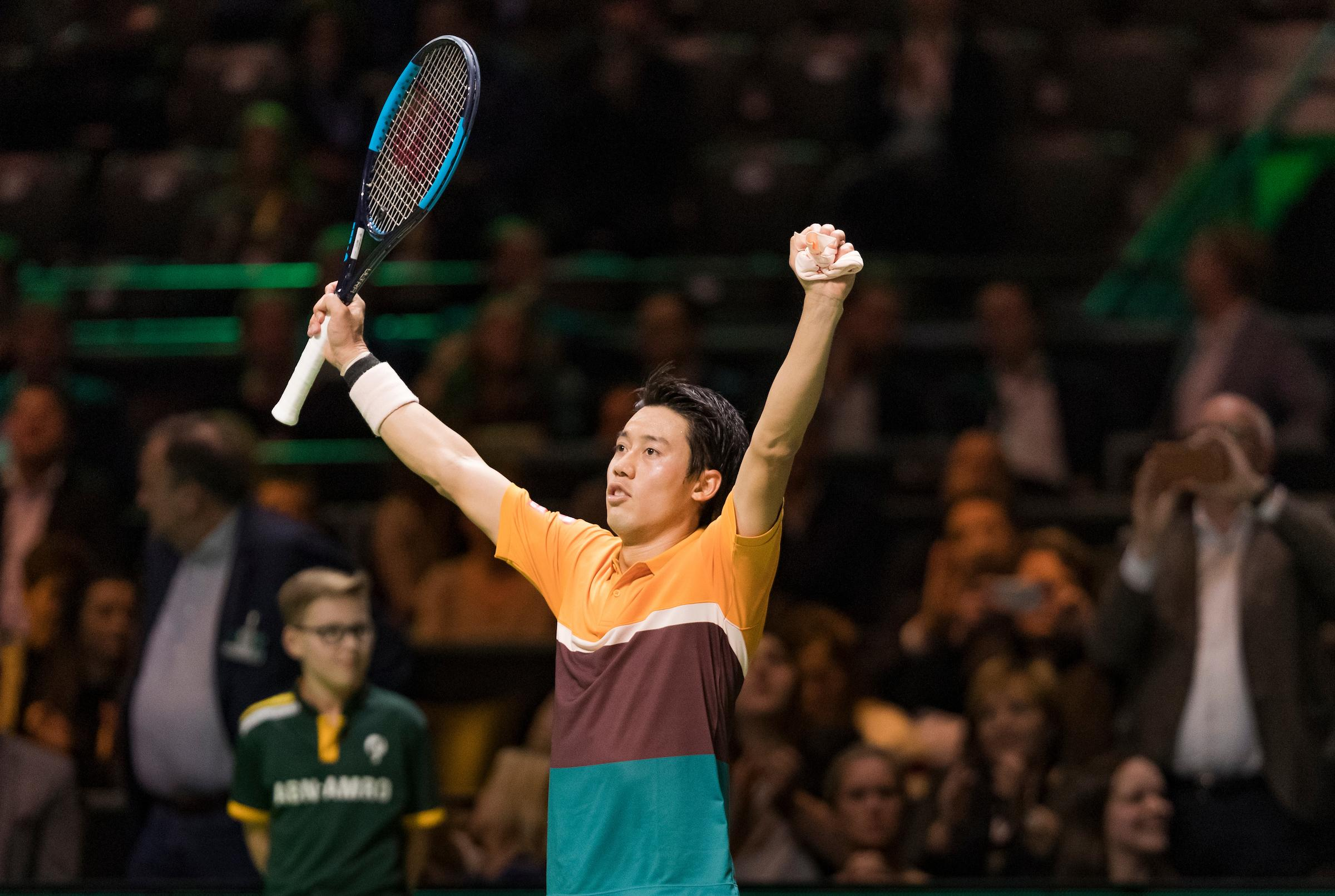 Kei Nishikori announces participation in ABN AMRO World Tennis Tournament