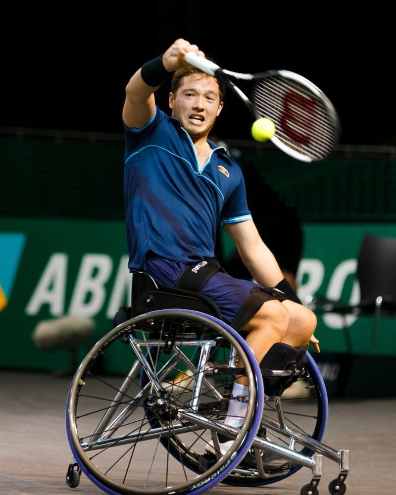 Top Players in ABN AMRO World Wheelchair Tennis Tournament