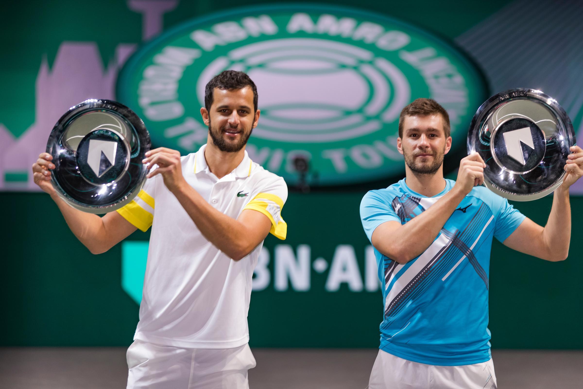Nikola Mektic en Mate Pavic winnen dubbelspeltitel