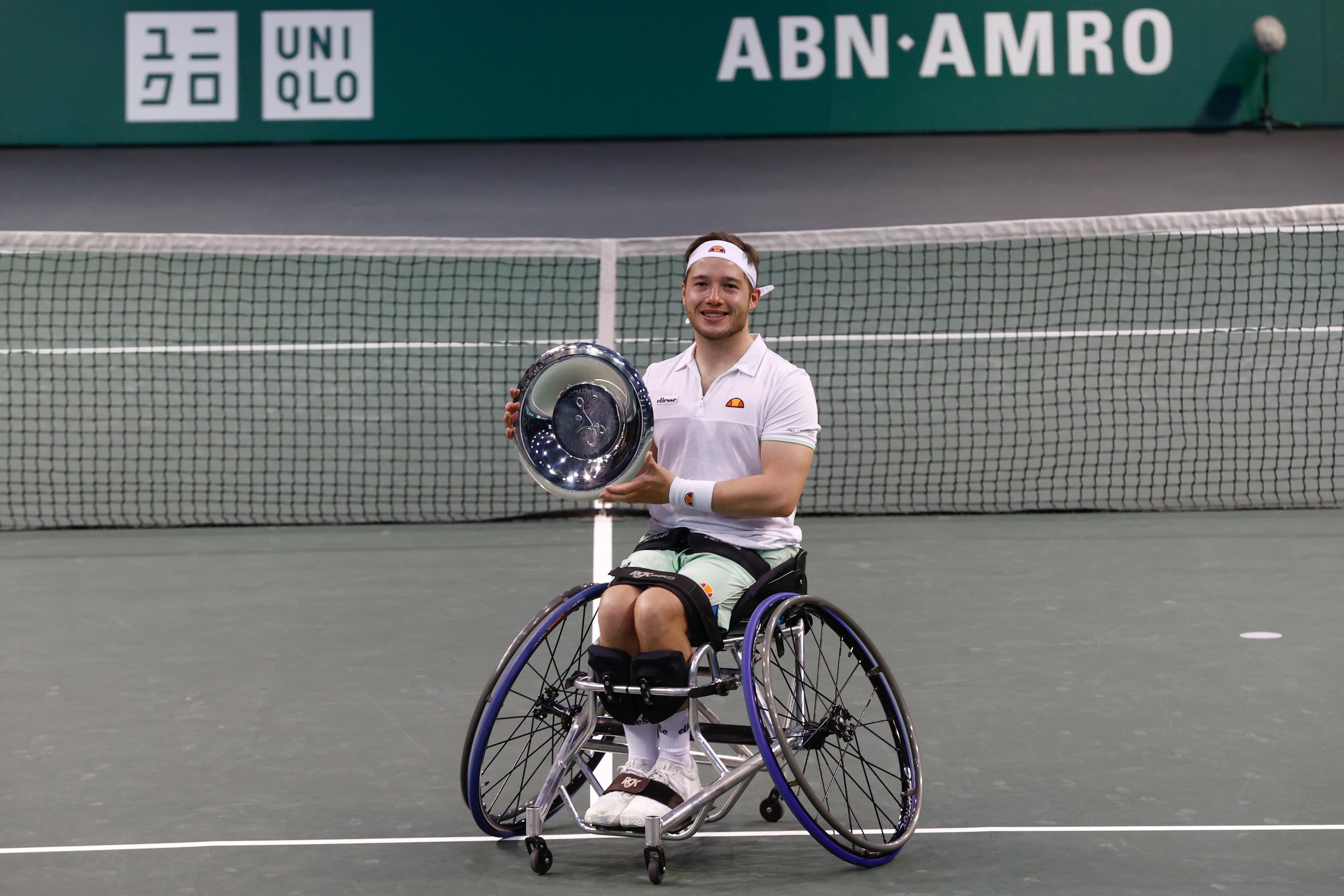 Britse overmacht in rolstoelfinales