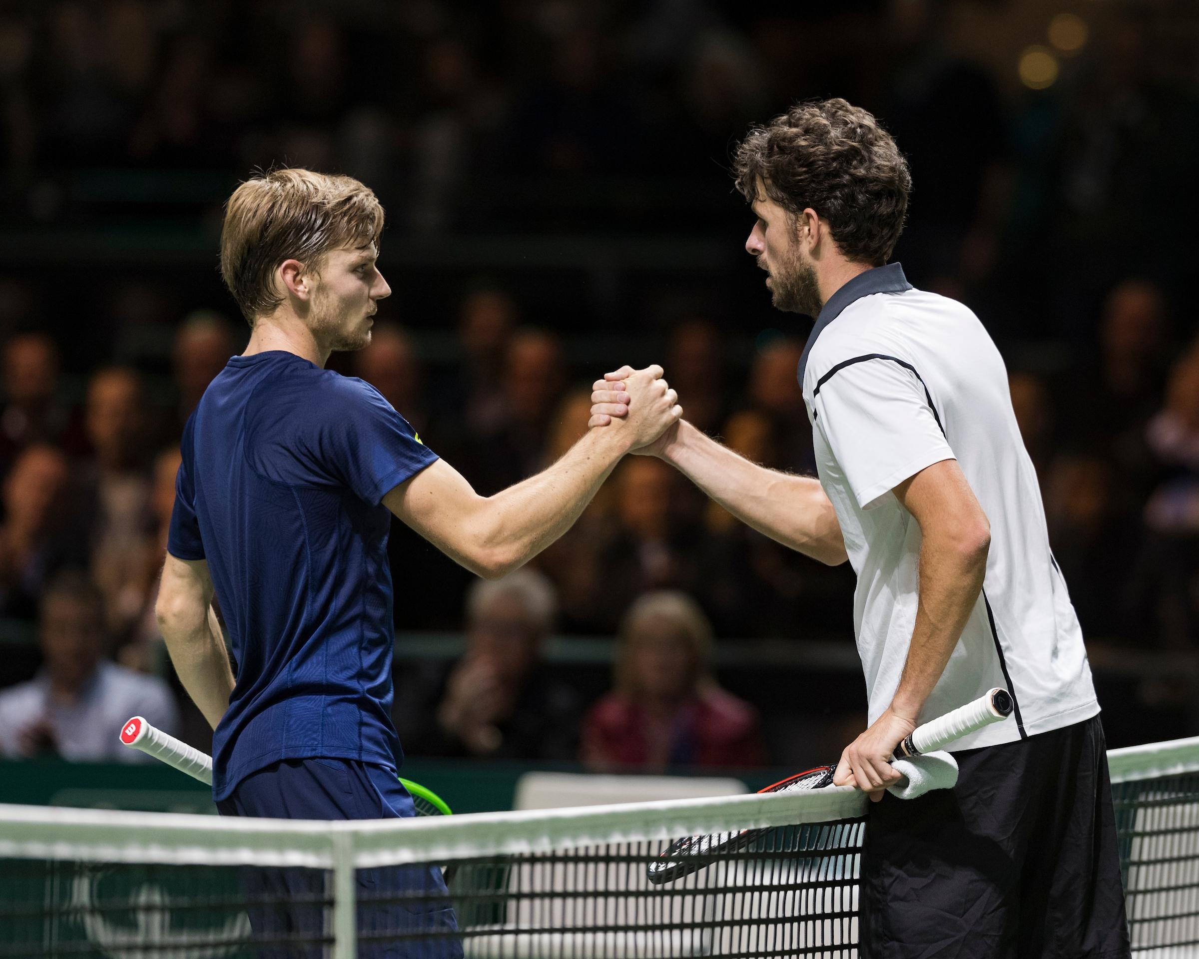 Robin Haase-David Goffin in openingsronde