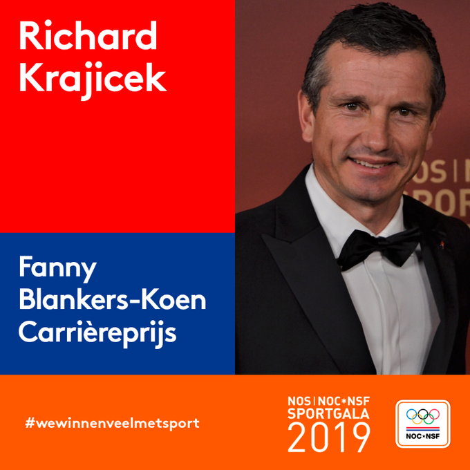 Richard Krajicek wint carriere award