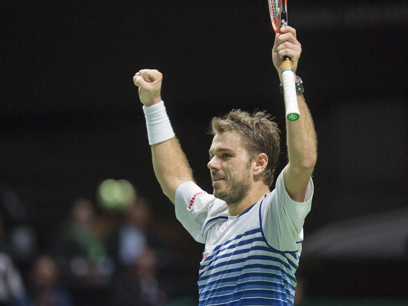 Stan Wawrinka naar het ABN AMRO World Tennis Tournament 2017