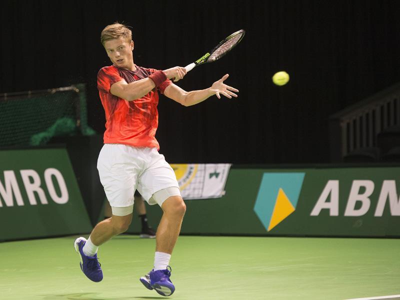 Tim van Rijthoven ontvangt wildcard voor het 44e ABN AMRO World Tennis Tournament