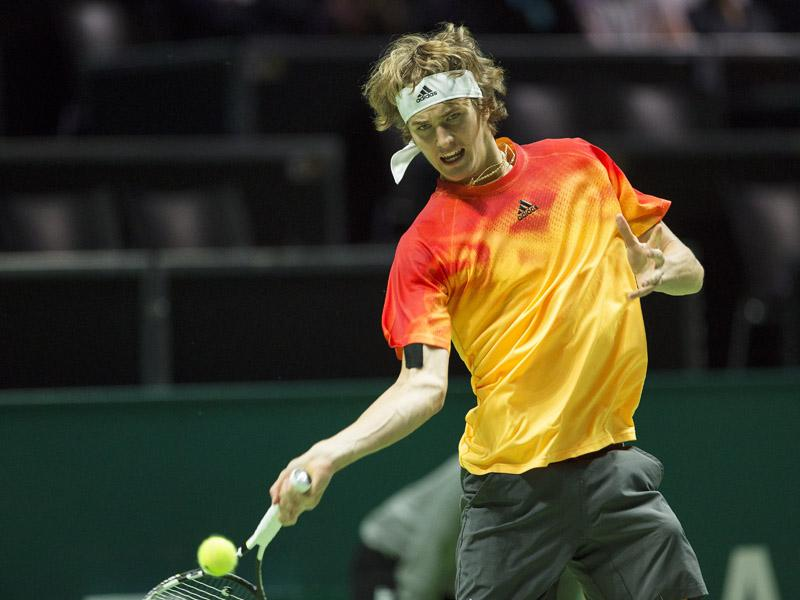 Kraker in openingsronde: Dominic Thiem-Alexander Zverev