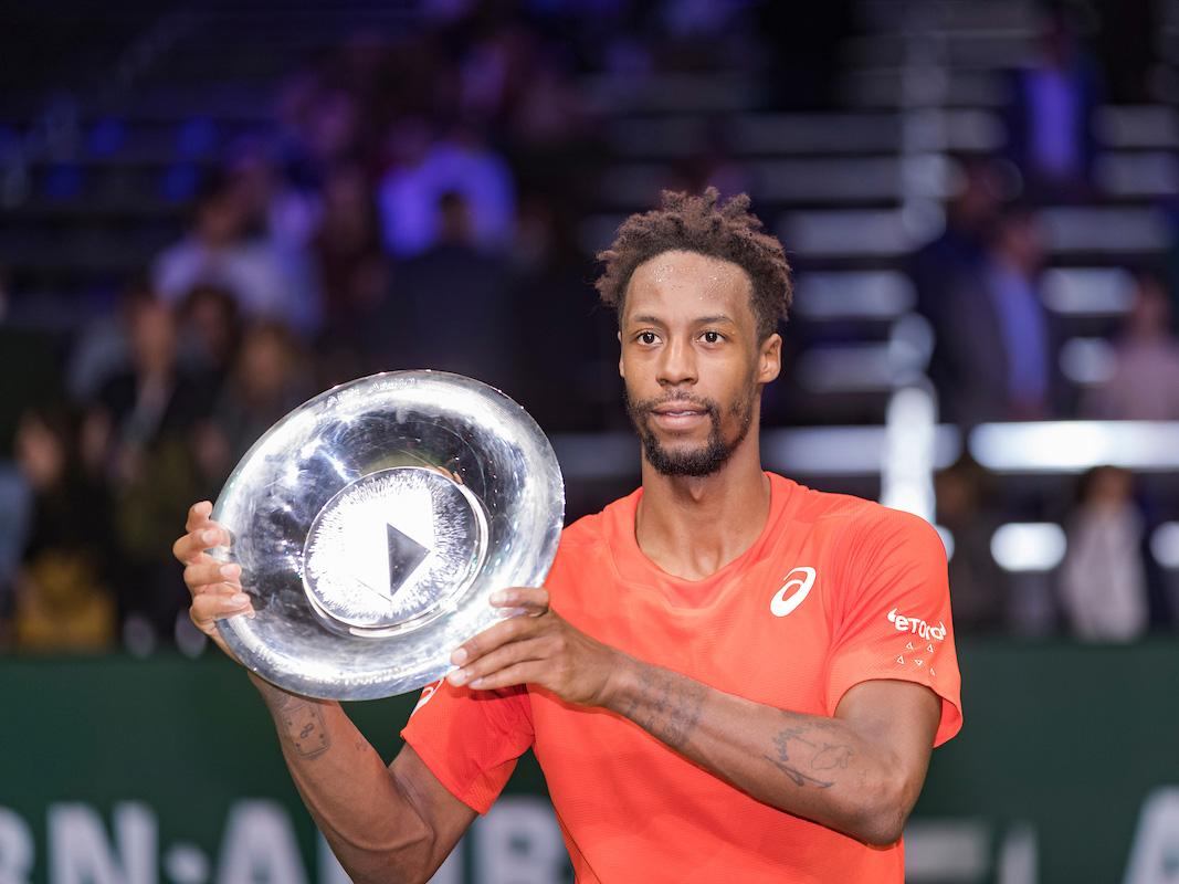 Gaël Monfils winnaar ABN AMRO World Tennis Tournament