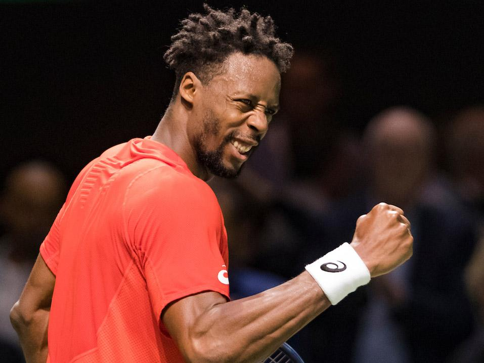 'Flying Frenchman' Gaël Monfils naar finale