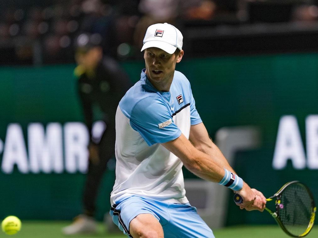 Andreas Seppi becomes the first player to proceed to the second round