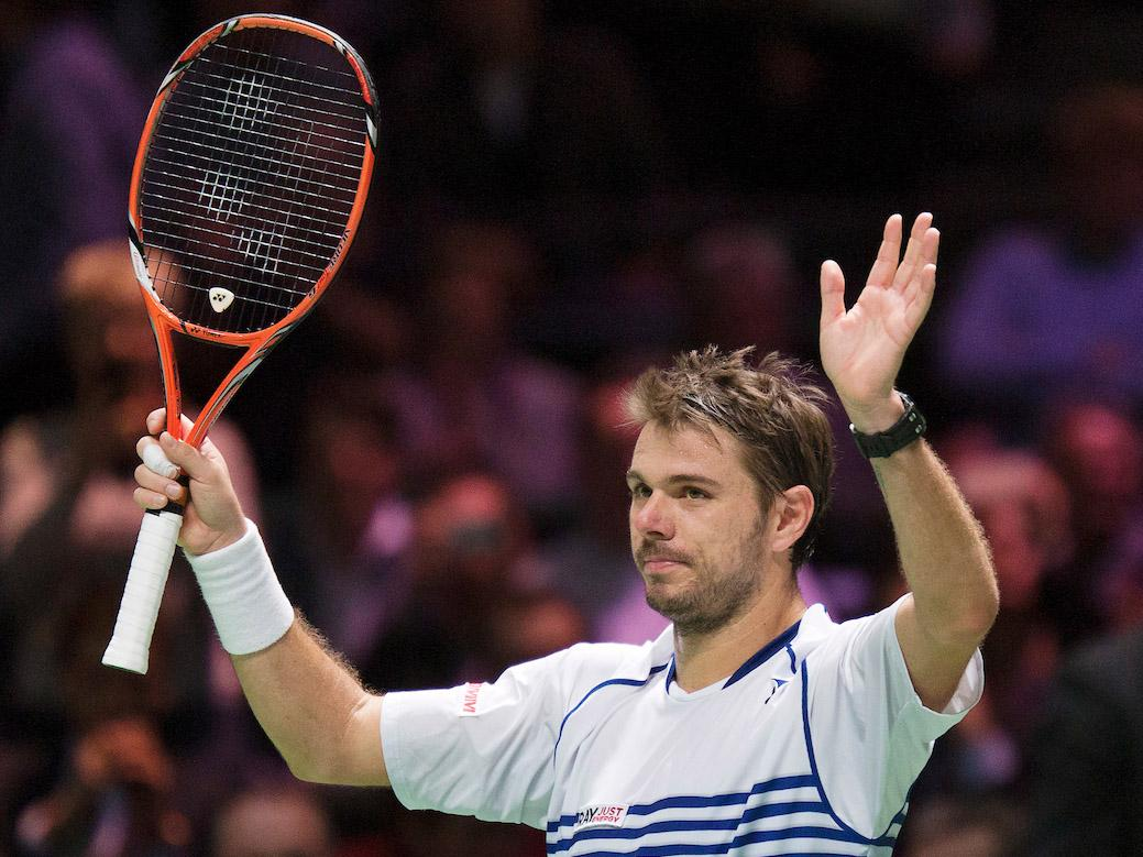 Former winners Tsonga and Wawrinka on Friday in quarterfinals