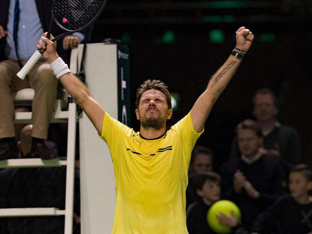Final for Stan Wawrinka after victory over Kei Nishikori