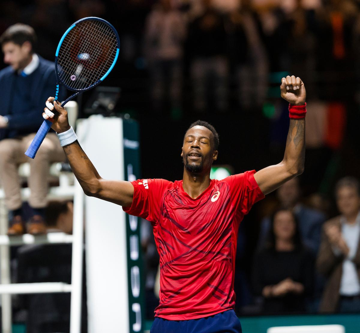 Gaël Monfils wederom winnaar van ABN AMRO World Tennis Tournament