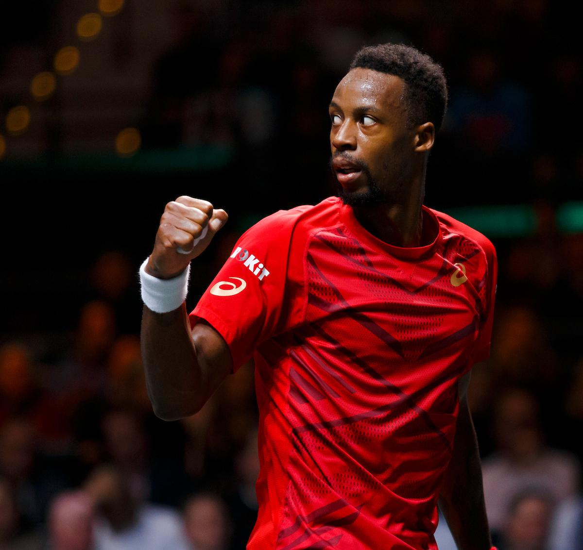 Title defence in sight for Gaël Monfils