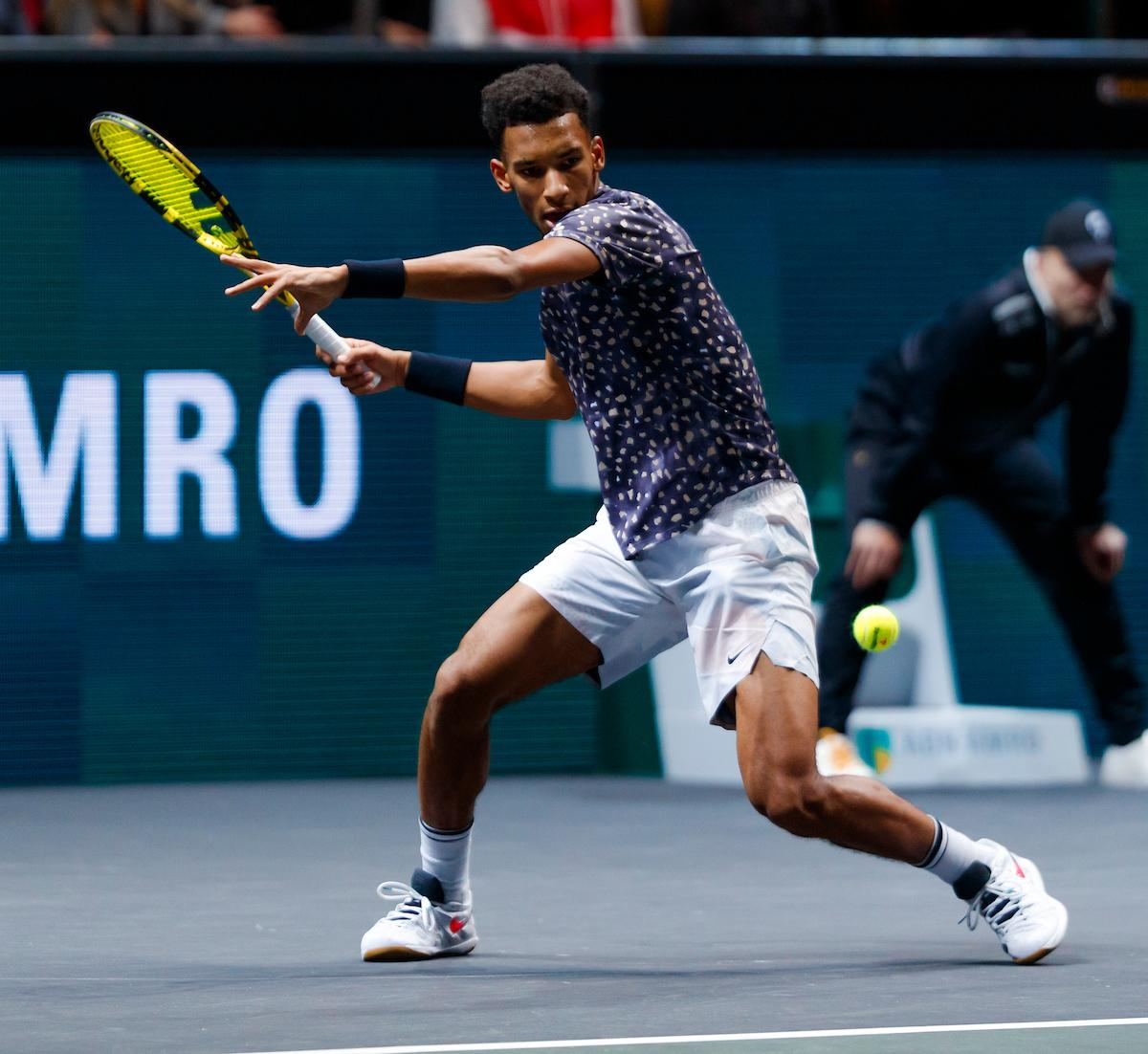 Auger-Aliassime writes tournament history
