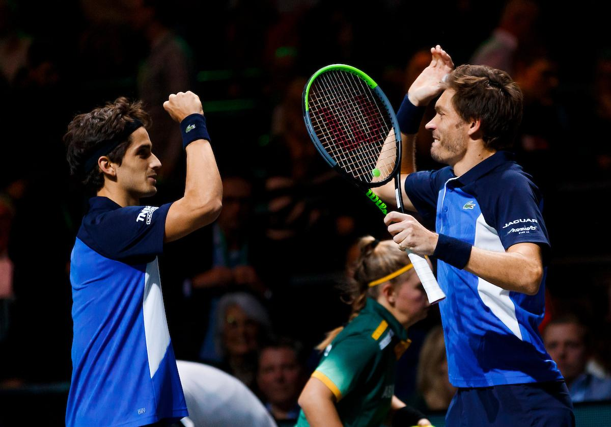 Pierre-Hugues Herbert en Nicolas Mahut winnen de dubbelspeltitel