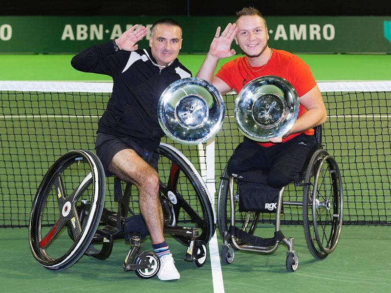 Finale Wheelchair Tournament live bij de NOS