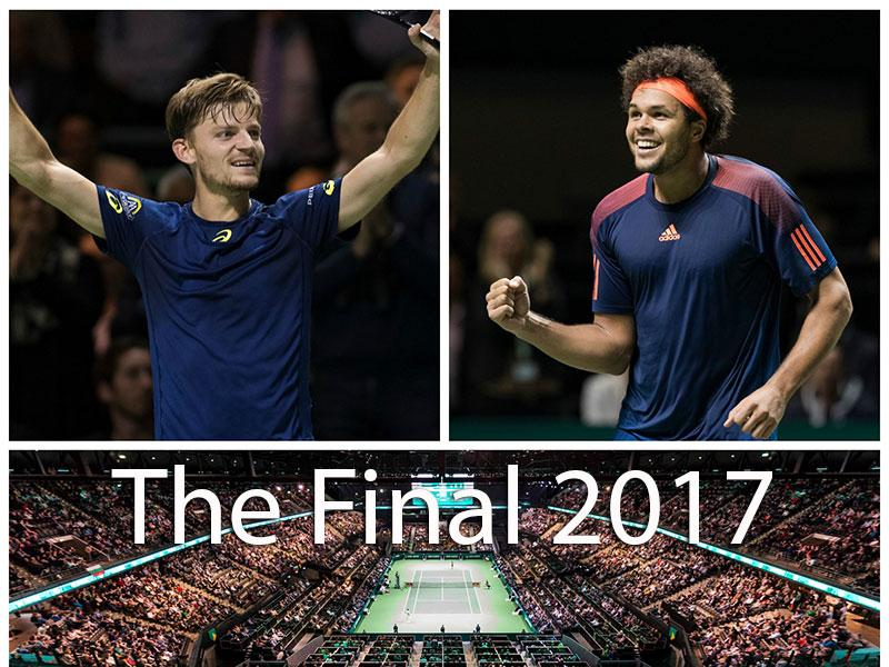 Topaffiche in finale: Jo-Wilfried Tsonga-David Goffin