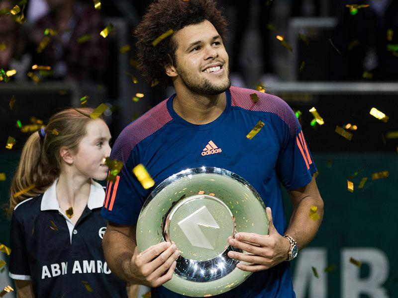 Jo-Wilfried Tsonga winnaar ABN AMRO World Tennis Tournament