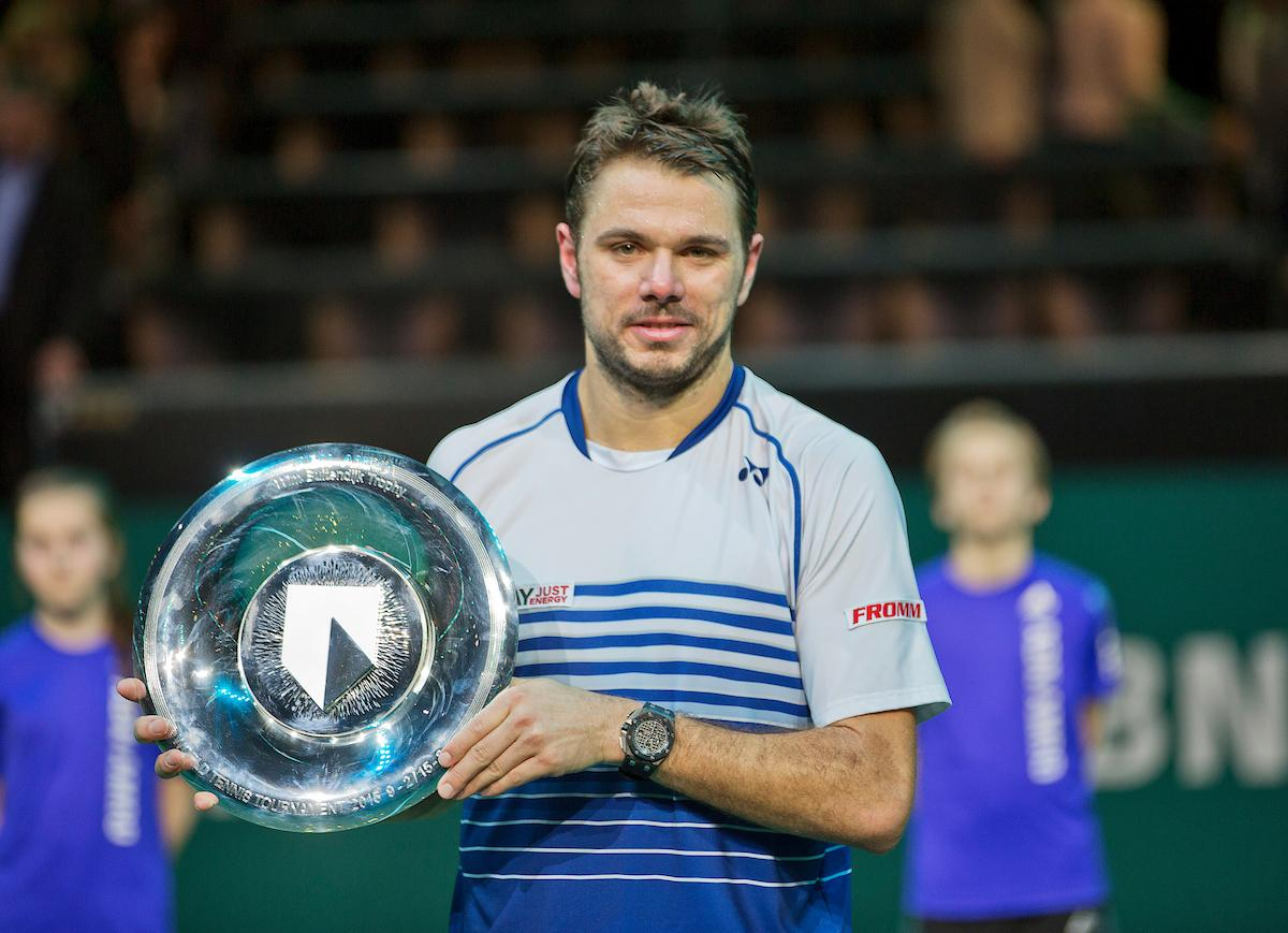 Stan Wawrinka naar 45e ABN AMRO World Tennis Tournament