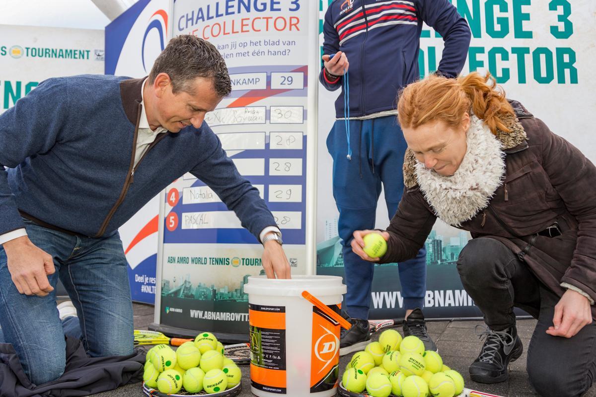 Rotterdam Tennist: check je skills op Zuidplein of de Markthal