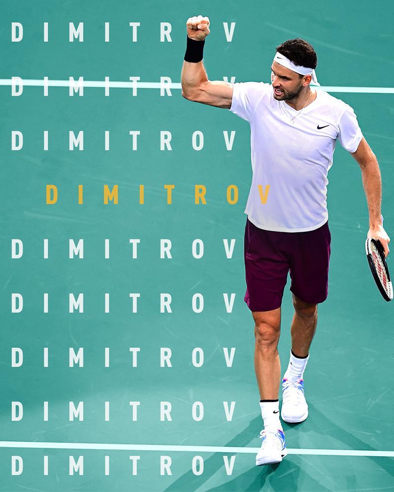 Grigor Dimitrov opnieuw naar Rotterdam