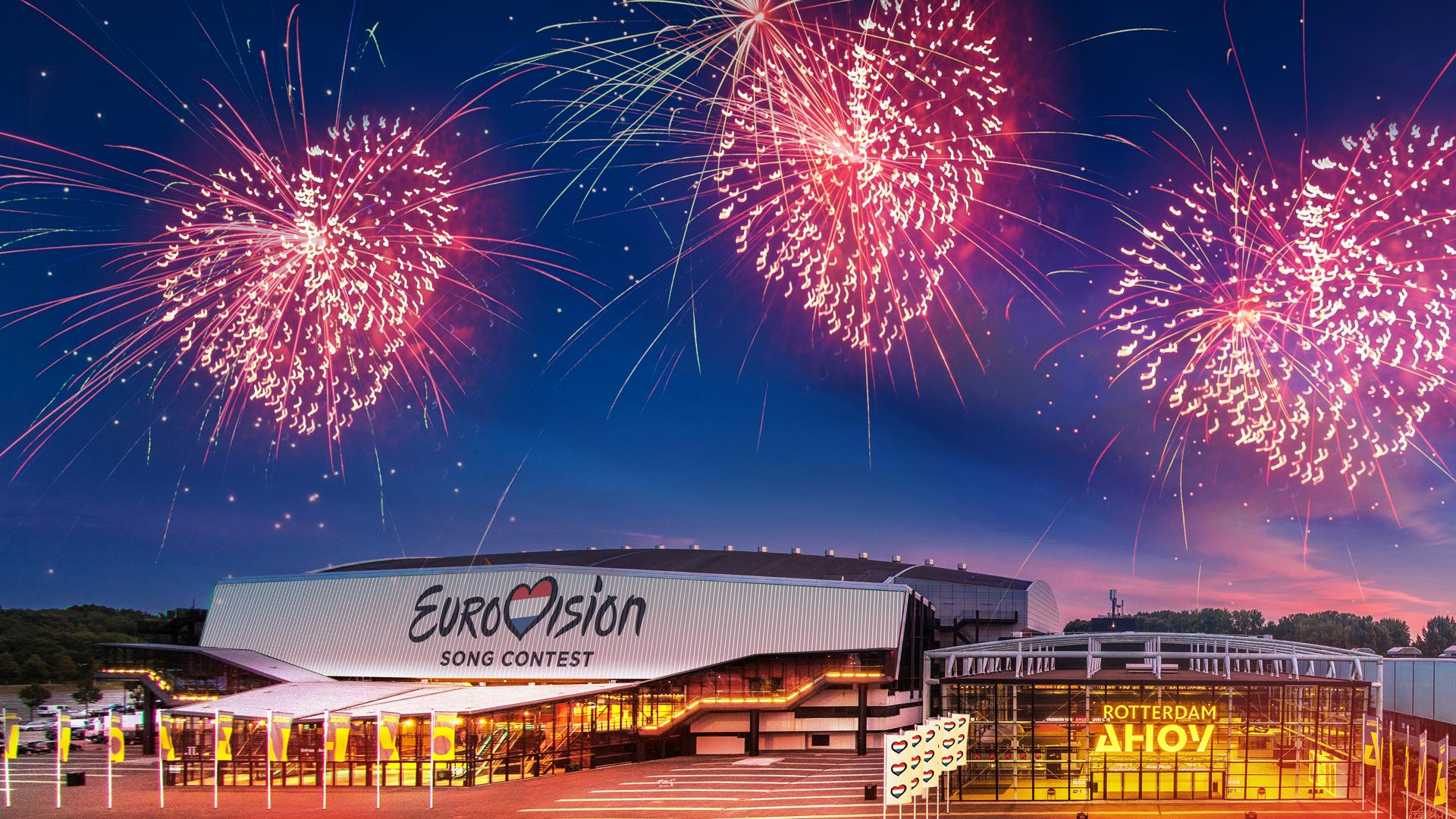 The Eurovision Song Contest is coming to Rotterdam!