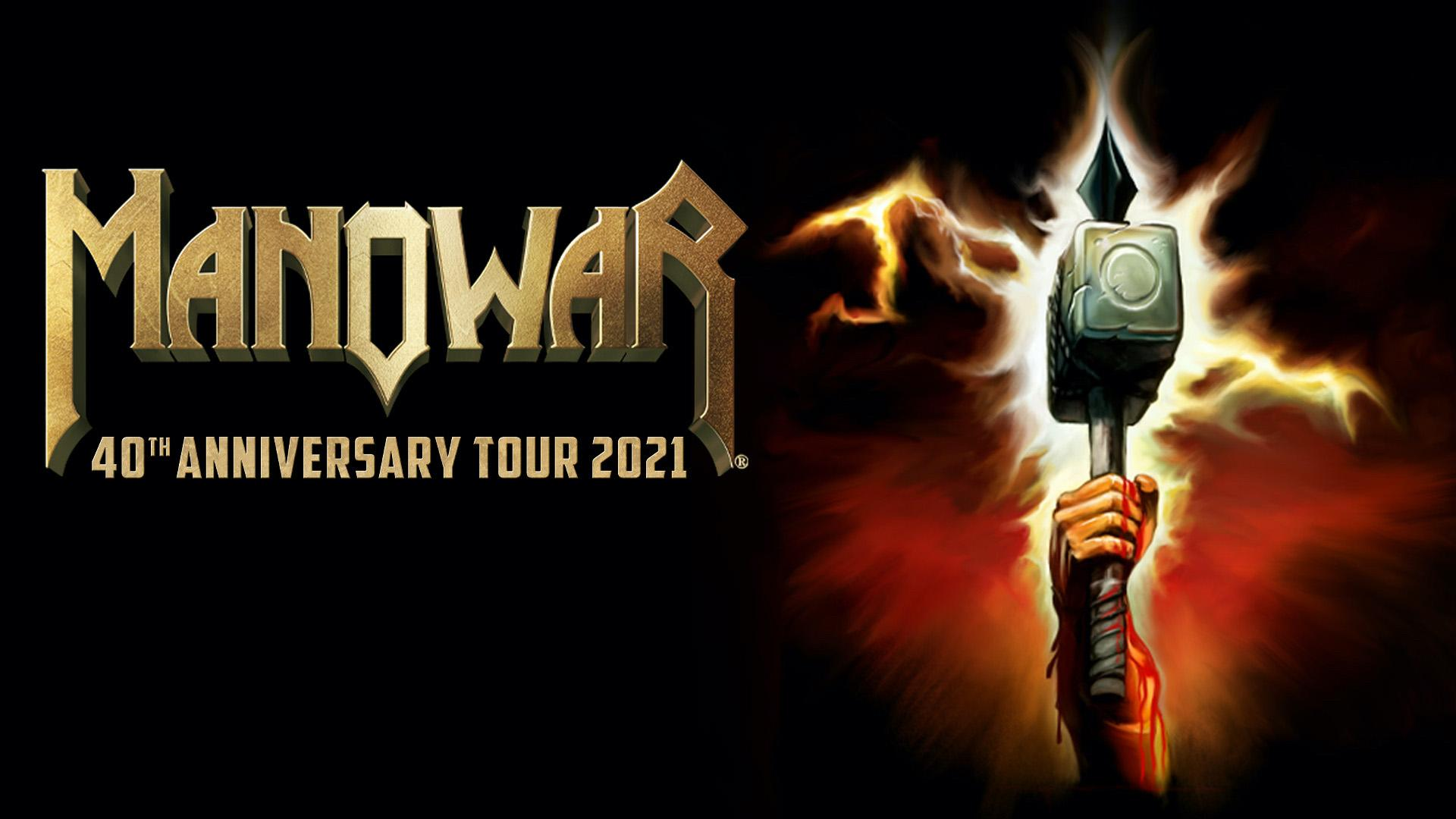 MANOWAR - 40th Anniversary Tour