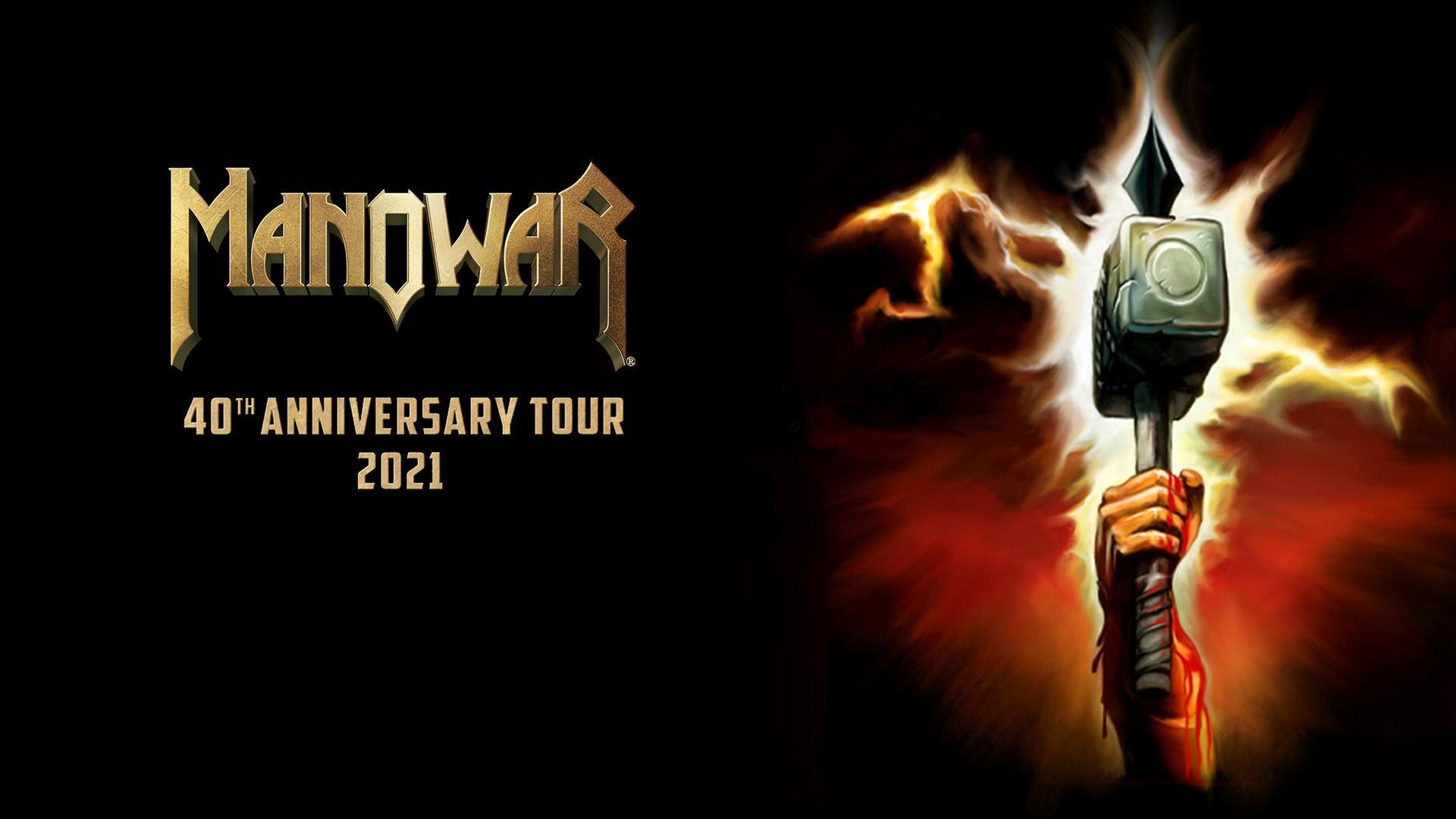 MANOWAR - 40th Anniversary Tour