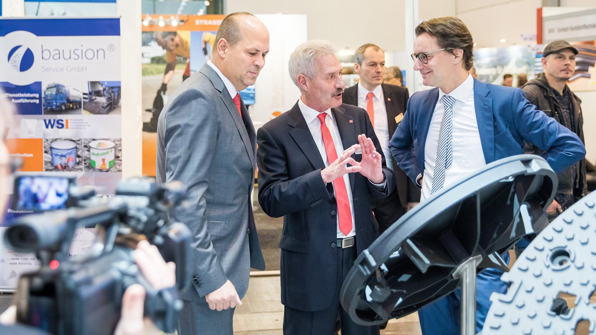 Ministerium für Verkehr onderstreept belang van InfraTech Duitsland in Noordrijn-Westfalen.