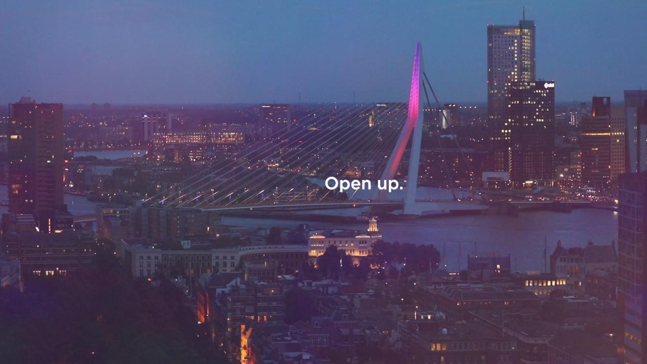 The slogan for the Eurovision Song Contest 2020 is 'Open Up'
