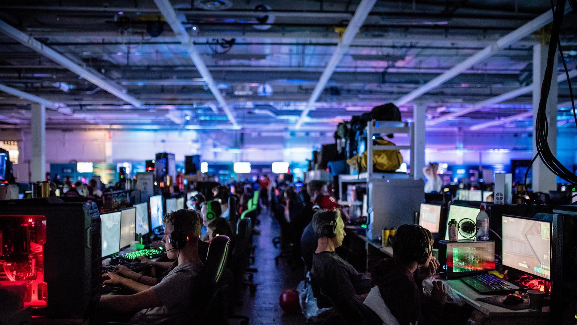 Activiteiten tijdens DreamHack Rotterdam