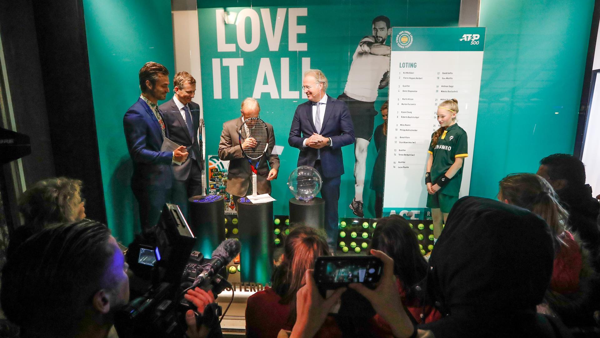 ABN AMRO en Rotterdam Ahoy verlengen opnieuw samenwerking ABN AMRO World Tennis Tournament