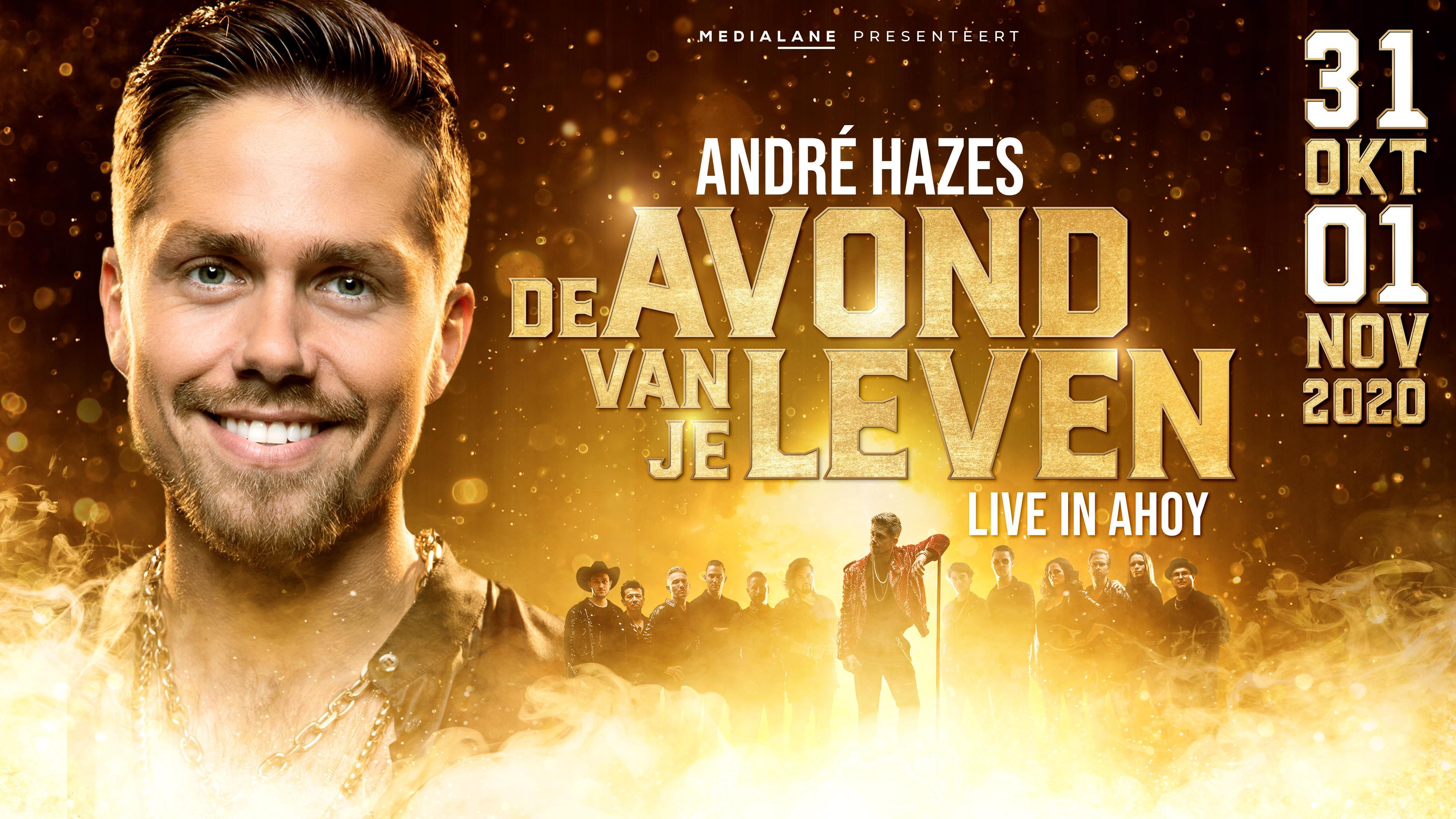 André Hazes kondigt nieuwe concertreeks in 2020 aan