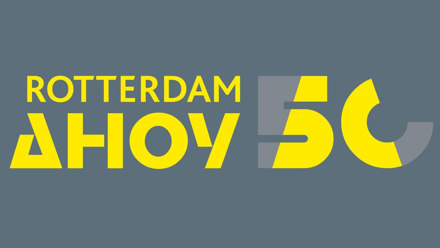 Rotterdam Ahoy bestaat vandaag 50 jaar