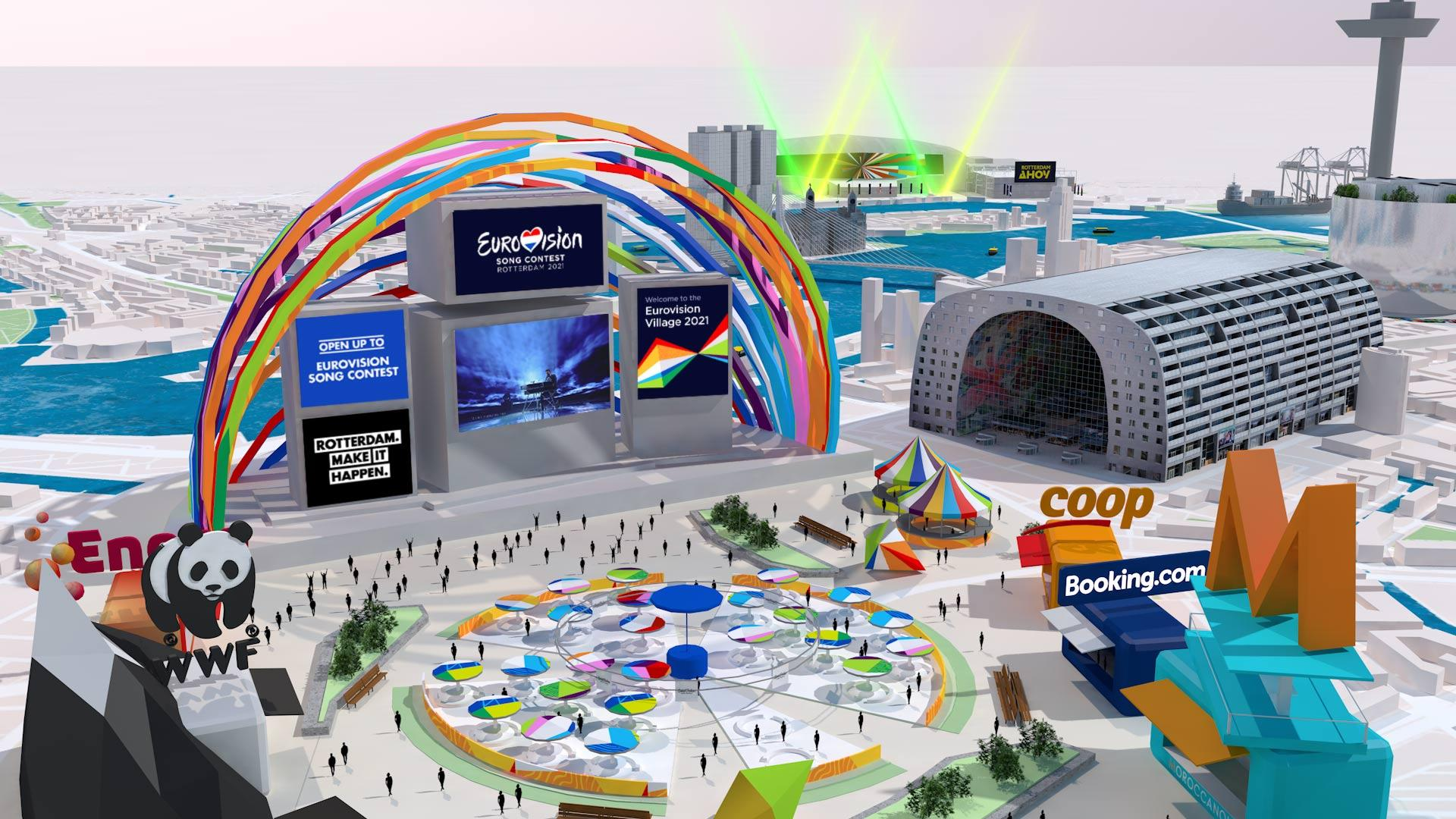 The world's first ever Online Eurovision Village opens 15 May