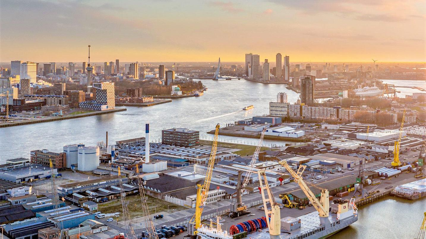 Breakbulk Europe in Rotterdam in 2022